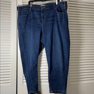 Lane Bryant Cropped Jeans 24